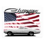 Dodge Charger Postcard