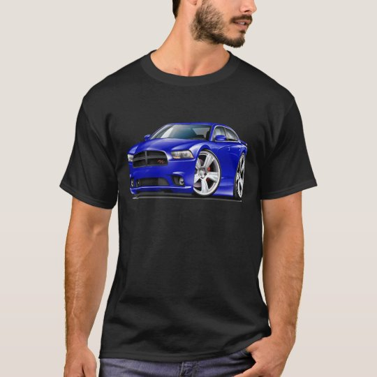 Dodge Charger RT Blue Car T-Shirt