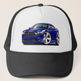Dodge Charger RT DK Blue Car Trucker Hat