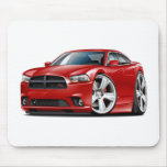 Dodge Charger RT Red Car Mouse Pad