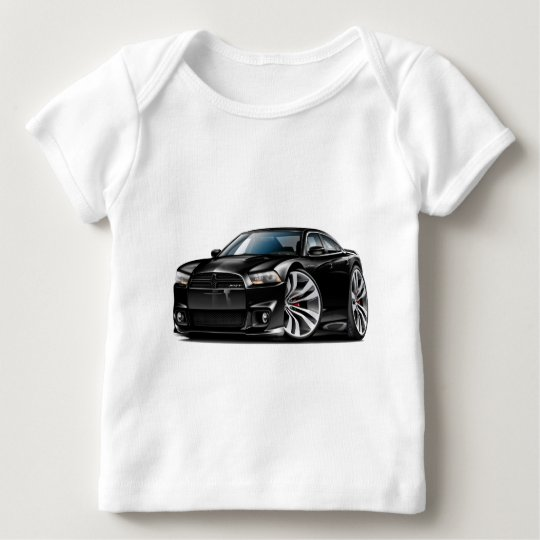 Dodge Charger SRT8 Black Car Baby T-Shirt