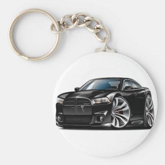 Dodge Charger SRT8 Black Car Keychain