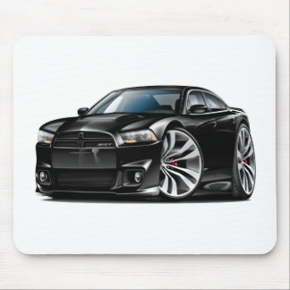 Dodge Charger SRT8 Black Car Mouse Pad