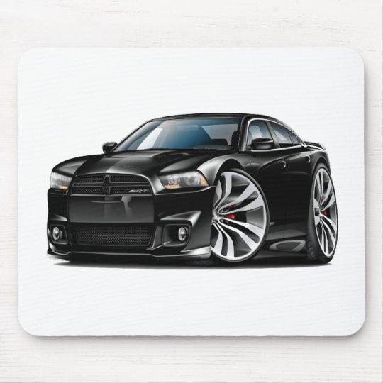 Dodge Charger SRT8 Black Car Mouse Pad