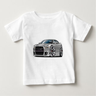 Dodge Charger SRT8 Silver Car Baby T-Shirt