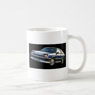 Dodge  Charger Turbo Classic White Coffee Mug