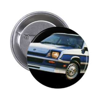Dodge  Charger Turbo Pinback Button