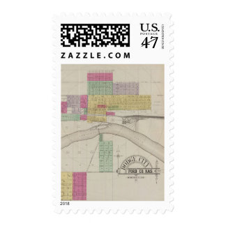 Dodge City, Ford County, Kansas Postage