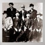 "Dodge City ""Peace Comission"" circa 1883 Print"