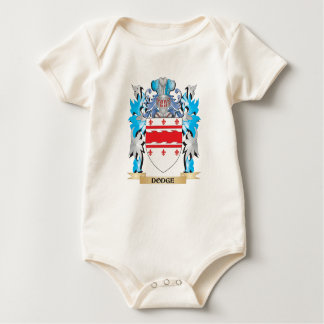Dodge Coat of Arms - Family Crest Baby Creeper