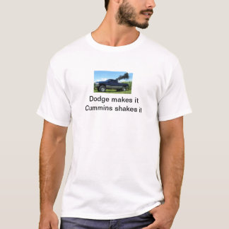 Dodge cummins tshirt