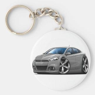 Dodge Dart Grey Car Key Chains