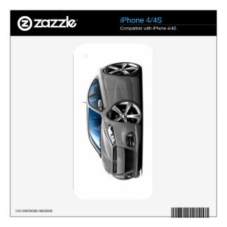 Dodge Dart Grey Car Skins For The iPhone 4S