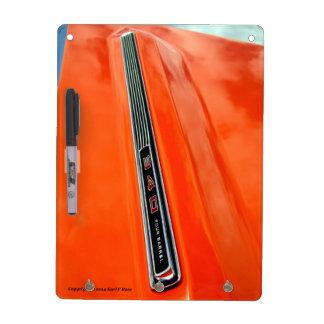 Dodge Dart key chain holder and dry erase board