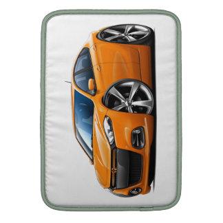 Dodge Dart Orange-Black Grill Car Sleeves For MacBook Air