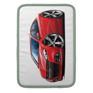Dodge Dart Red-Black Grill Car Sleeves For MacBook Air