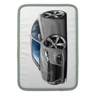 Dodge Dart Silver-Black Grill Car MacBook Sleeve