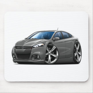 Dodge Dart Steel Grey-Black Grill Car Mousepads