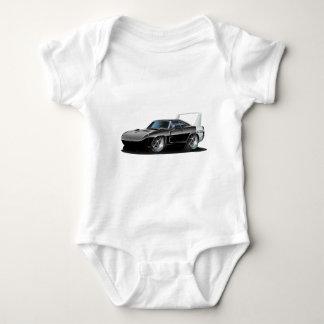 Dodge Daytona Black Car Baby Bodysuit
