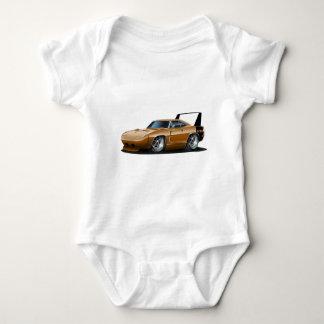 Dodge Daytona Brown Car Baby Bodysuit