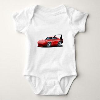 Dodge Daytona Red Car Baby Bodysuit