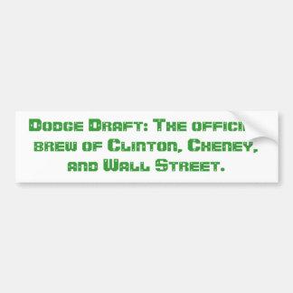 Dodge Draft Bumper Sticker