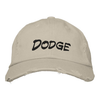 Dodge Embroidered Baseball Caps