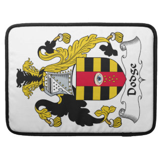 Dodge Family Crest Sleeves For MacBook Pro