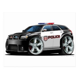 Dodge Magnum Police Car Postcard