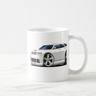 Dodge Magnum White Car Coffee Mug