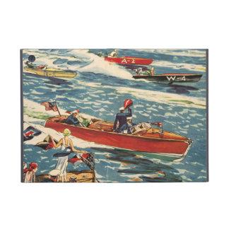 Dodge Motor Speed Boat Vintage Antique Row Ocean iPad Mini Cover