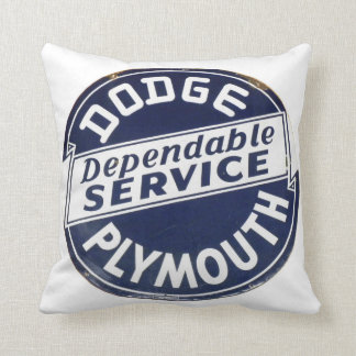 Dodge Plymouth Service Pillow