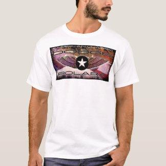 Dodge Polara Cool Classic Faded Flag Design T-Shirt
