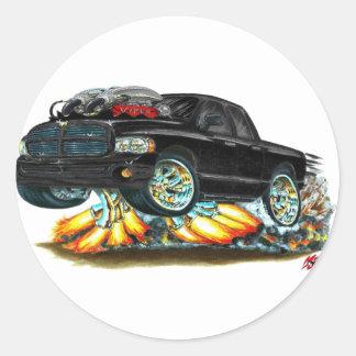 Dodge SRT10 Black Dual Cab Truck Sticker