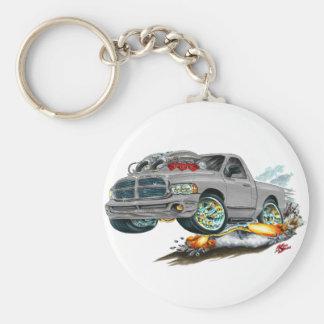 Dodge SRT10 Grey Truck Keychain