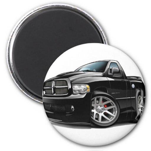 Dodge SRT10 Ram Black 2 Inch Round Magnet