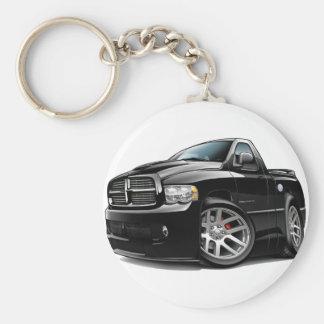 Dodge SRT10 Ram Black Keychain