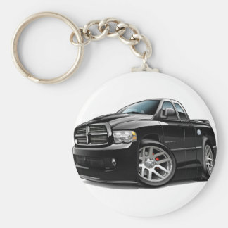 Dodge SRT10 Ram Dualcab Black Keychain