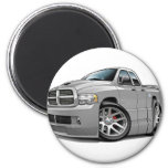 Dodge SRT10 Ram Dualcab Grey 2 Inch Round Magnet