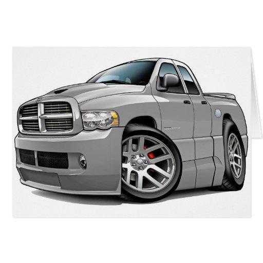 Dodge SRT10 Ram Dualcab Grey Card