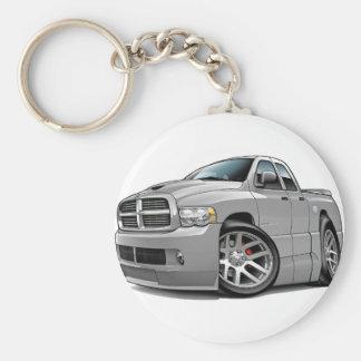 Dodge SRT10 Ram Dualcab Grey Keychain