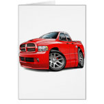 Dodge SRT10 Ram Dualcab Red Card