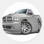 Dodge SRT10 Ram Grey Sticker