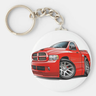 Dodge SRT10 Ram Red Key Chain