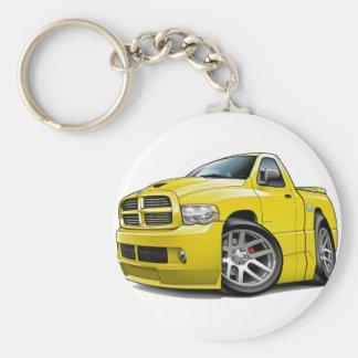 Dodge SRT10 Ram Yellow Keychain