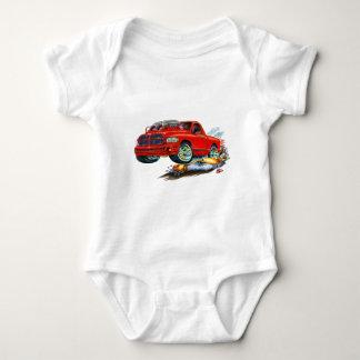Dodge SRT10 Red Truck Baby Bodysuit