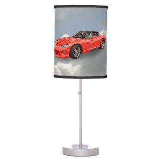 DODGE VIPER TABLE LAMP