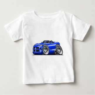 Dodge Viper Roadster Blue Car Baby T-Shirt