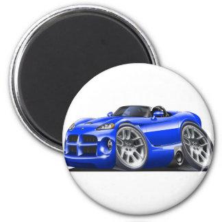 Dodge Viper Roadster Blue Car Fridge Magnet