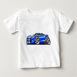 Dodge Viper Roadster Blue-White Car Infant T-shirt